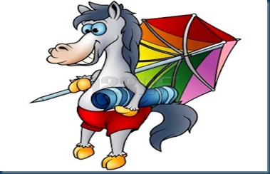 caballo playa
