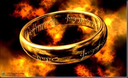 el señor de los anillos el anillo